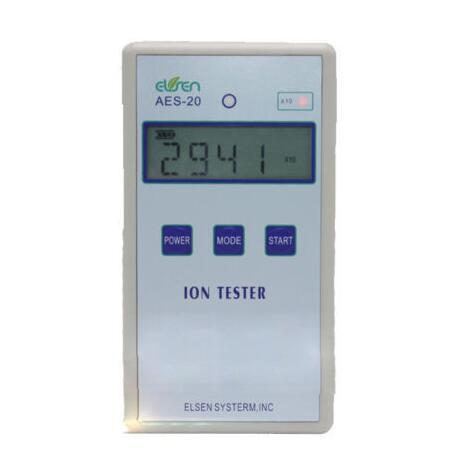 AES-20 Solid Ion Tester Meter for Solid Tourmaline Powder Coatings Textile fast shipping
