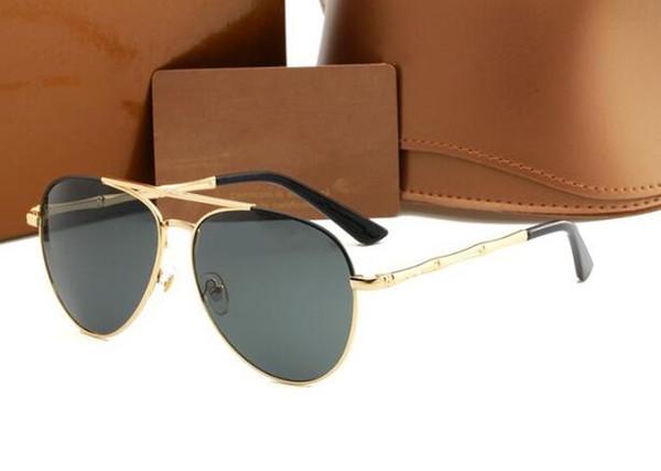 2018 marka tasarım Polarize güneş gözlüğü erkekler kadınlar Yeni Üst Sürümü lüks Sunglass 4271 Çerçeve uv400 lens Spor Güneş Gözlükleri