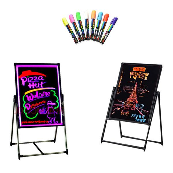 Bambini che imparano le luci LED bordo fai da te per bar negozio hotel segno luci promozione pubblicità bordo luci al neon a LED