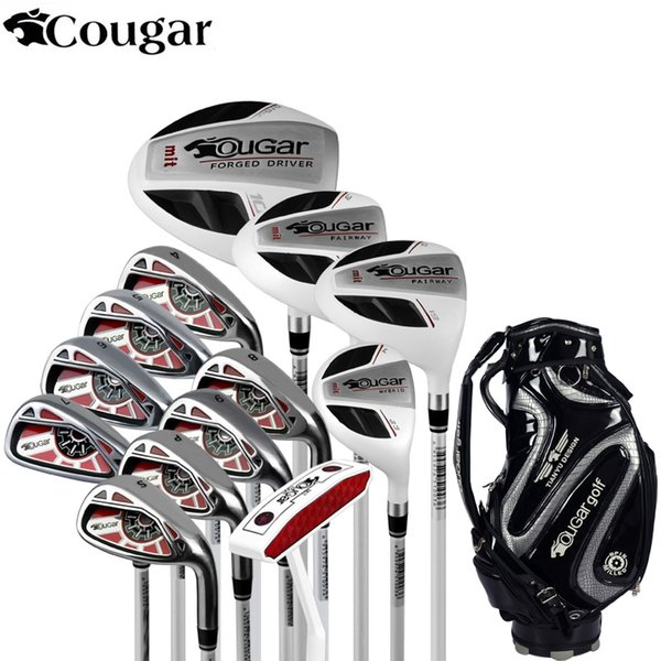 Brand Cougar mens Full Mini Half mens golf clubs complete full golf irons set graphite shafts set clubs branded