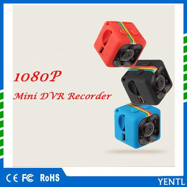 YENTL SQ11 Mini Camera HD 1080P Night Vision Camcorder Home Car DVR Infrared Video Recorder Sport Digital Camera Support TF Card DV Camera
