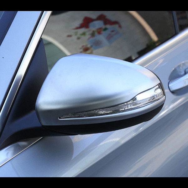 Chrome ABS Car Rear Rear Rear Mirror Cover For Mercedes Benz Clase C W205 2014-19 Clase E W213 2016-18 GLC X253 2016-18