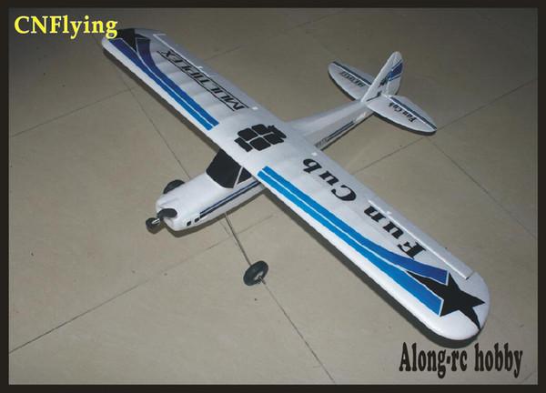 EPO RC airplane beginner MODEL HOBBY 4-5channel plane wingspan:1100mm FUN CUB AIRPLANE (PNP set or KIT SET)
