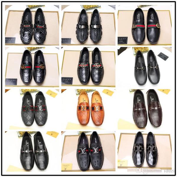 18ss Erkekler Elbise ayakkabı Monk ayakkabı Özel el yapımı ayakkabı Hakiki dana Deri Renk koyu kahverengi kayış çift tokaları 38-45
