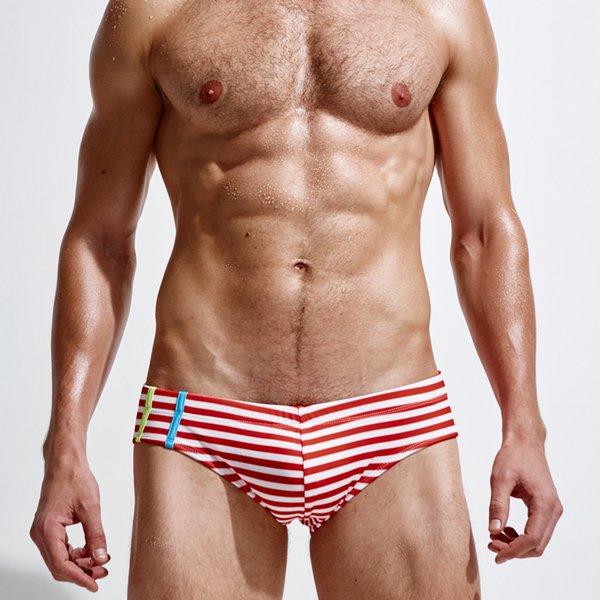 Mens natação roupas de verão homem swims maillot de bain low-rise sexy swimwear quick dry suave homem de praia biquíni homem cuecas
