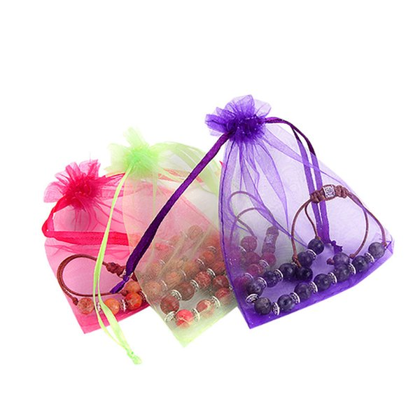 1pc Jewelry storage Bags Packaging Bags Wedding Party Decorations Favors spinning Organza for girls