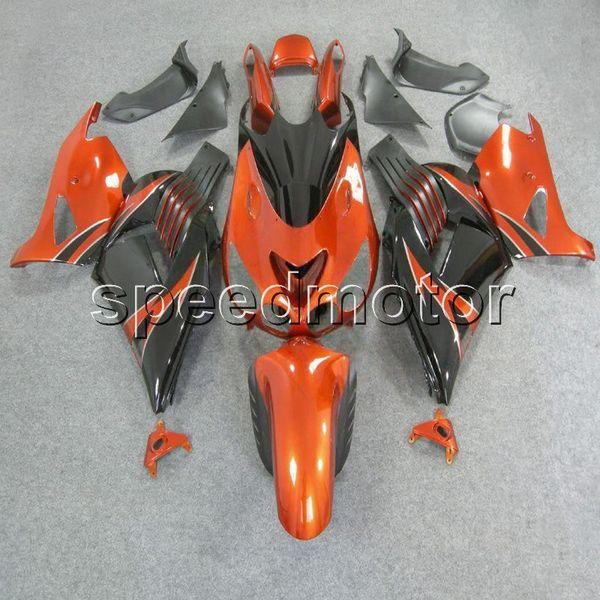 23colors + Gifts Moulage par injection orange noir carénage moto pour Kawasaki ZX14R 2006 2007 2008 2009 2010 2011 ZX-14R kit de plastique ABS