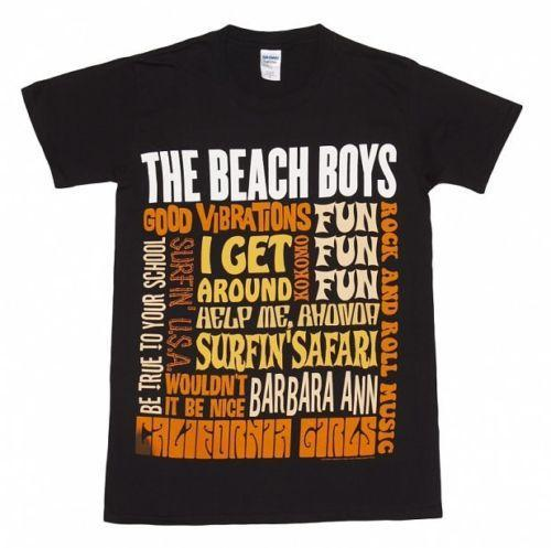 Beach Boys - Best Of S / S - T-shirt officiel noir pour hommes