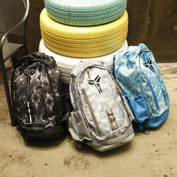 top popular KOBE Bag Men Backpacks Basketball Bag Sport Backpack School Bag For Teenager Outdoor Backpack Multifunctional Package Marque Mochila 2019