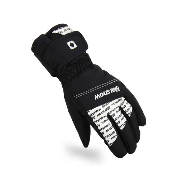 Women Men Ski Gloves Snowboard Snowmobile Motorcycle Riding Winter Gloves Windproof Waterproof Warm Unisex Snow Mittens Brands