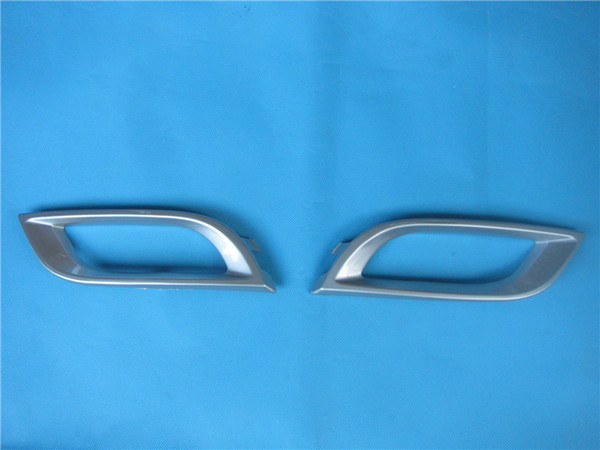 best selling Fog lamp light cover trim Chrome colour decorate for Mazda 3 BL 2008-2010 Roof model BFF7-50-C22 BFF7-50-C12