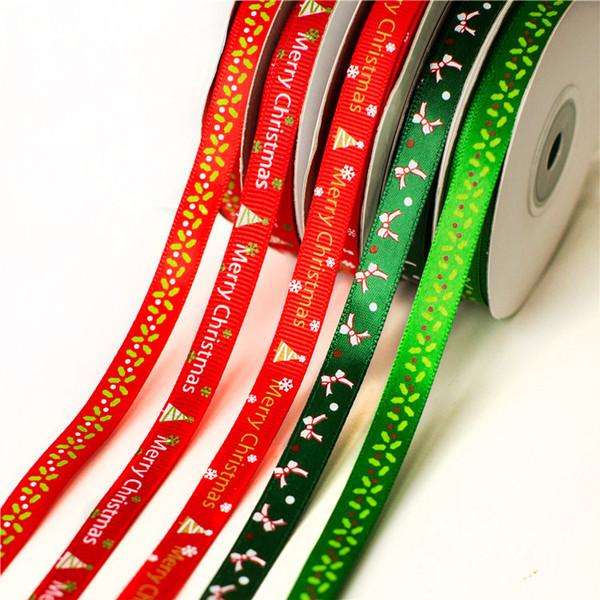 1 CM * 25 yards Pro Stück Neujahr Geschenkverpackung Band Liefert Weihnachtsgeschenk Rotwein Handwerk Bogen Band Geschenk Dichtband
