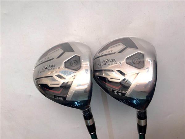 Brand New Honma TW737 Fairway Woods Honma TW737 Golf Fairway Woods Golf Clubs #3/#5 R/S Flex Shaft With Cover