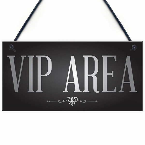 Vip Area Man Cave Home Bar Sign BBQ Beer Garden Party Dad Shed Fathers Day Gift For Him