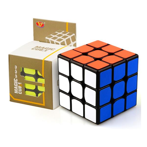 매직 큐브 전문 속도 퍼즐 큐브 트위스트 완구 3x3 클래식 퍼즐 매직 완구 성인과 어린이 교육 완구 2 색