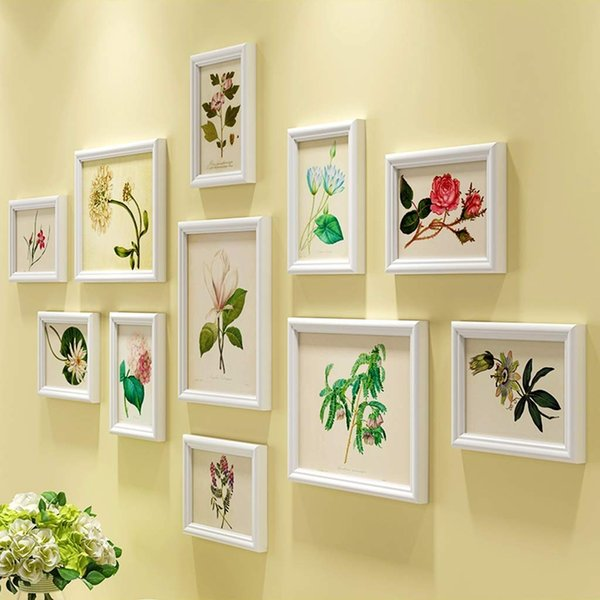 Gallery Wall Frame Set,11 Sets of Wall and Table Photo Frames,for Interior dining room living room dining room