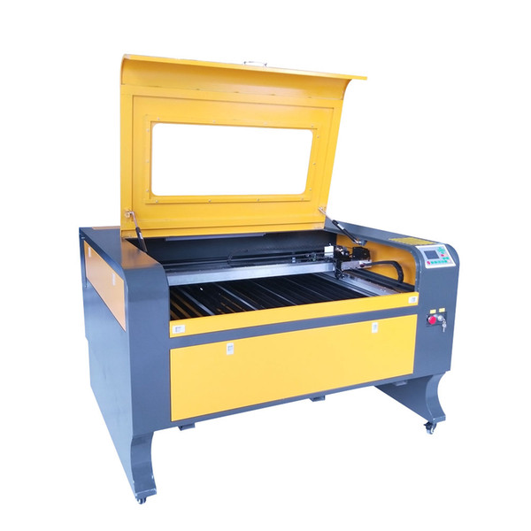 Reci 100w W2 tube 1080 Laser Engraver 1000*800 mm Ruida 6442S Laser Engraving Cutting Water Chiller CW3000 No Tax For Russian