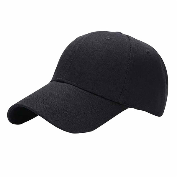 dd33be601d3 2018 Summer Baseball Cap Women s Men s Adjustable Cap Unisex Casual Hip-Hop  Caps Solid Fashion Outdoor Snapback Hats