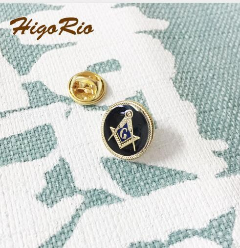 2019 Freemason Square And Compass Masons Pins Custom Masonic Lapel Pin  Badge 15mm Elegant Black Soft Enamel With Epoxy Brooch From Fashionfashion,
