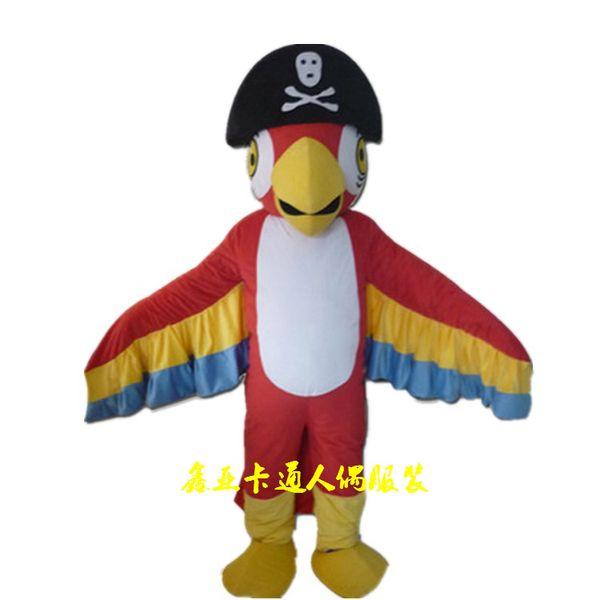 Beauty parrot Mascot Costume j7 animal Mascot Costumes Adu Costume Mascot Cartoon Character Costume free shipping