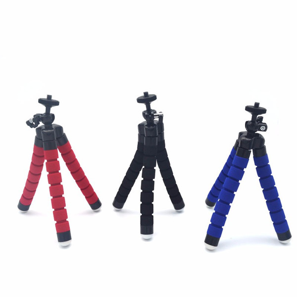 Flexible Octopus Digital Camera Tripod Holder Universal Mount Bracket Stand Display Support For Cell Phone Accessories