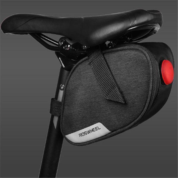 ROSWHEEL Waterproof Bag Mountain Bicycle Saddle Pannier Seat Package for De