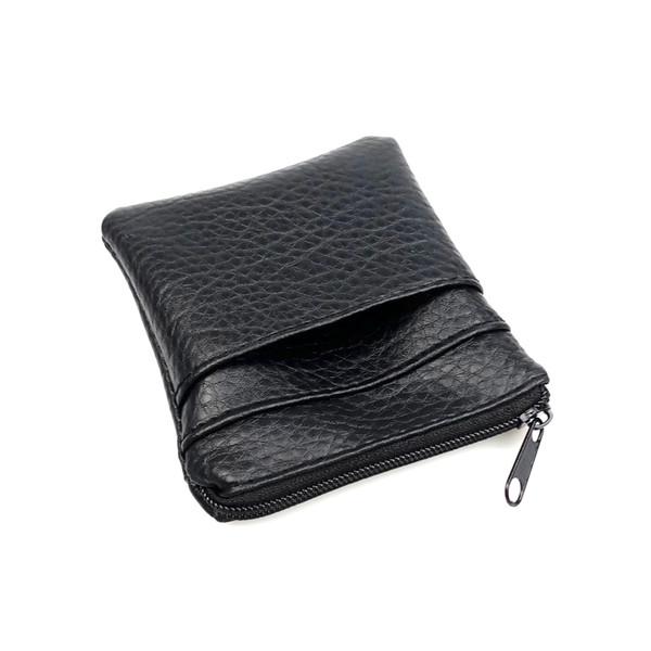 Coin Purses 2018 New Fashion Pu Leather Cheap Coin Purse Women Men Small Mini Short Wallet Bags Change Little Key Card Holder