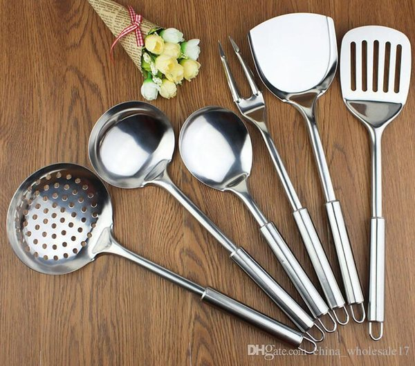 2019 New Kitchen Utensil Set Stainless Steel Kitchen Cooking Tools Upscale  Kitchenware Cook Kitchen Accessories Spatula Spoon From Free_life03, $8.5 |  ...