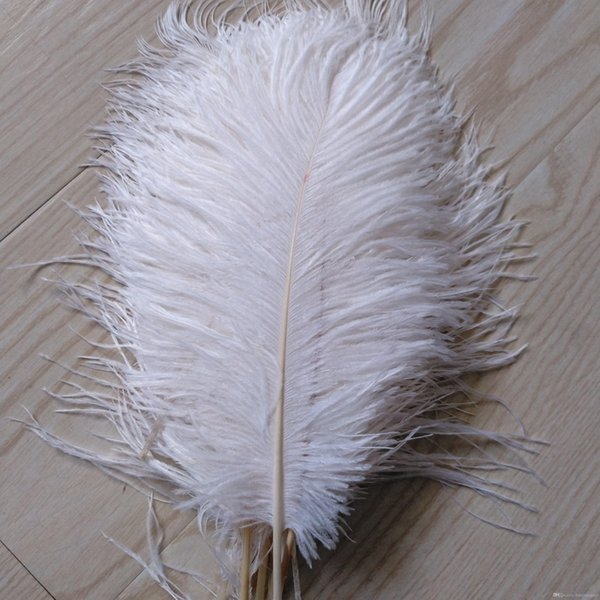 wholesale 200pcs/lot 10-12inch Ostrich Feather Plume white,Wedding centerpieces table centerpiece decor party event decor z134