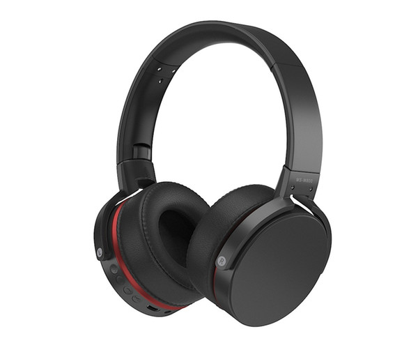 Exquisite Stereo Headphone 3.5mm Foldable W800 Wireless Bluetooth 4.2 Multifunction Headset with Radio & TF Card Support 3 Axis adjustment