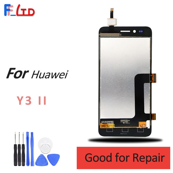 OEM for Huawei Y3 II LCD Display and Touch Digitizer Screen Replacement Wholesale Price 100% Tested Free Shipping