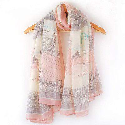 Hot Fashion 1PCS Stylish Women Girls Long Large Silk Scarves Printed Soft Comfortable Cotton Scarf Wrap Ladies Shawl