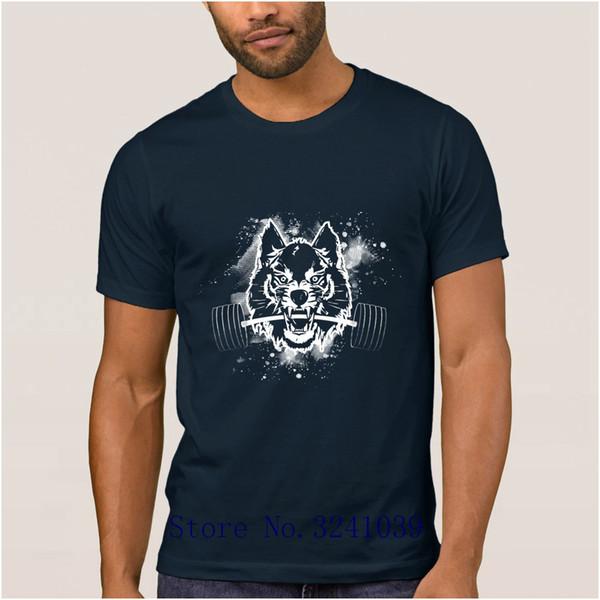 La Maxpa Humor iron emotion's hungry wolfs t shirt for mens 2017 Anti-Wrinkle t-shirt men large Euro Size S-3xl men tshirt