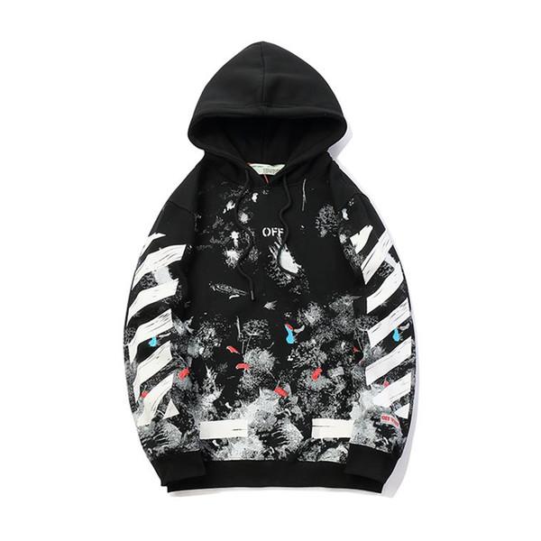 2018 pull de cachemire de designer italien, marque de luxe, pull en laine brodé à carreaux pour hommes, imprimé rayé de mode