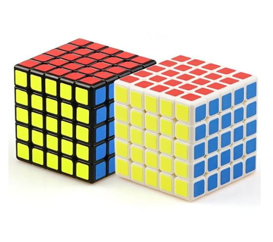 5x5x5 Yong Jun Magic Abs Ultra Smooth Professional Speed Cube Puzzle  Twist,Smooth Pvc Paster , 6 3x6 3x6 3cm Mtg Cube Draft Magic Cube Solving  From