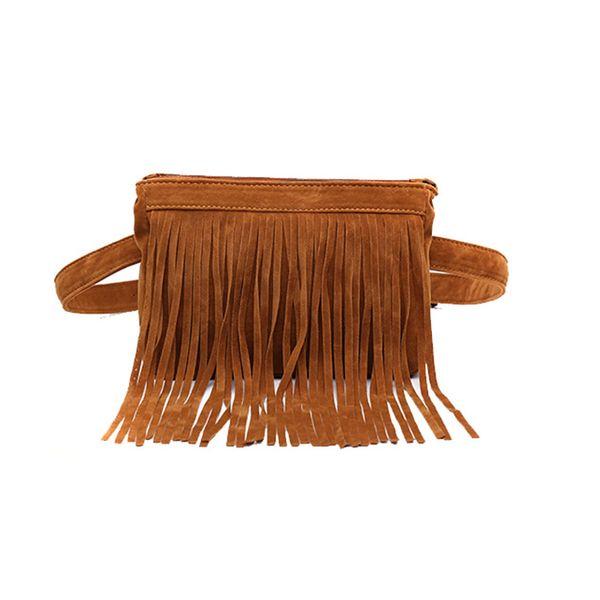 Waist Belt Bag for Women 2018 New Arrival Women Waist Pack Fashion Simple Designer Fanny Pack Waist Bag Tassel Belt Bag