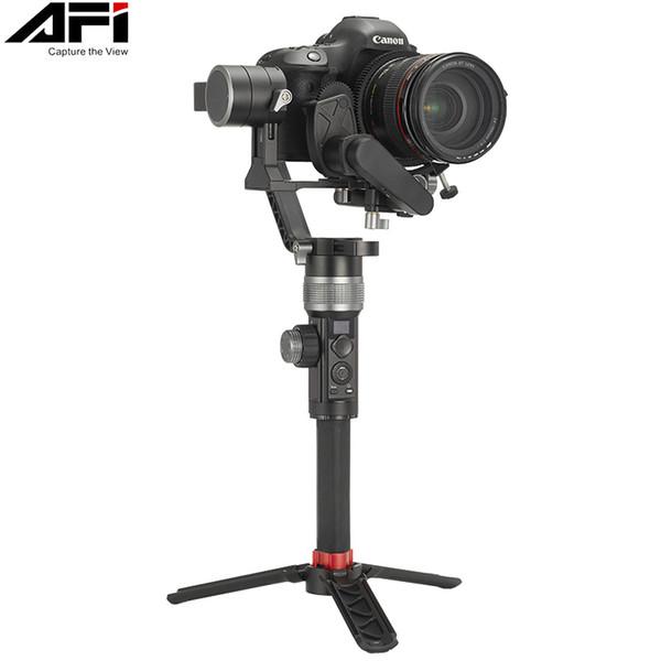 AFI D3 Gimbal Stabilisator für Kamera DSLR Handheld Gimbals 3-Achsen Video Mobile für alle Modelle von DSLR mit Servo Follow Focus