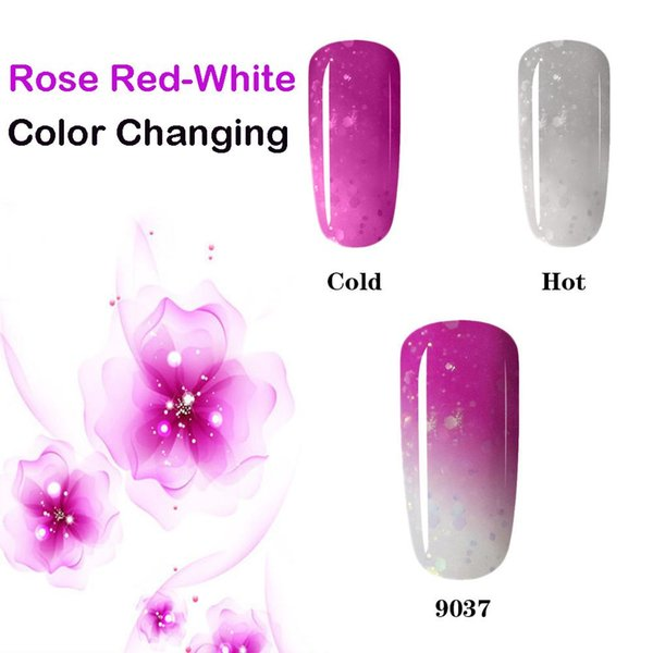 Rose Thermal 35 Color Change Gel Nail Polish Mood Nail Gel Polish UV LED Semi Permanent GelLak Thermo Hybrid Varnish Gelpolish