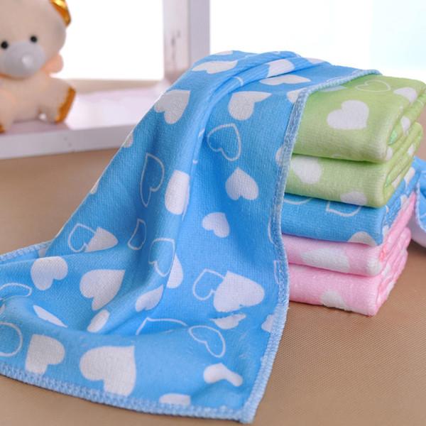 Baby superfine faser Gaze Handtuch Kind Badetücher Waschlappen Quadrat Handtuch Kinder Küche Bad Wischen Waschlappen 25 * 50 cm