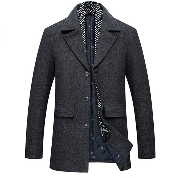 Jacket Peacoat From Homme Mantel com Coat 96Dhgate Caban Wool Herren Men 2019 Jacke Tayler133 Fashion Manteau Kurzmantel Winter PilkZuTwOX