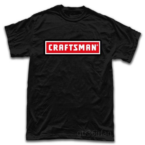 Craftsman Tools Equipment Logo New T-Shirt Funny Tee Shirts Hipster O-Neck Cool Tops Hip Hop Short Sleeve comfortable fabric