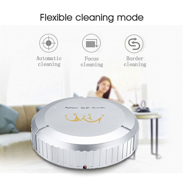 Cewaal Home Auto Floor Cleaning Robot Sweeping Robot Smart Vacuum Cleaner Sweeping Movable Intelligent Automation Modules