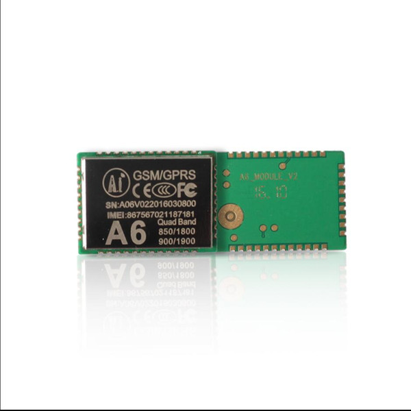A6 A9 A9G GPRS module + GSM module SMS voice wireless data transmission A9G support GPS+AGPS