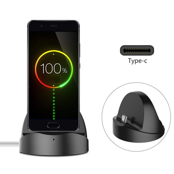 Desk Charging dock Station phone Holder For Xiaomi Oneplus for Huawei mobile support Type C Charger base Usb-C Stand for iPhone
