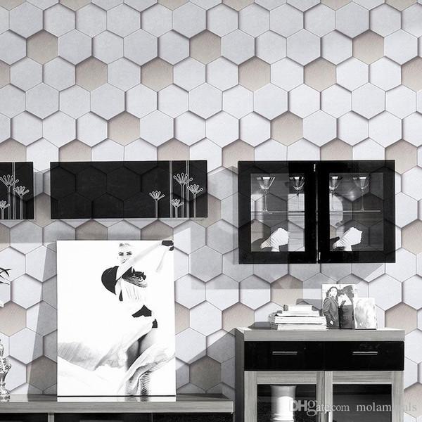 PVC 3D Moderne Tapeten Wohnzimmer Schlafzimmer TV Wandtapete Spezielle Anti-Schimmel Home Decoration Hotel Dekorative 53cmx10m
