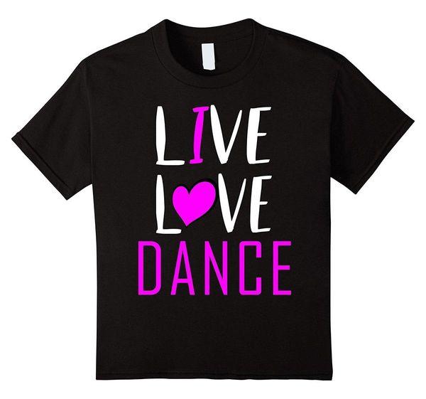 Camiseta Live Love Dance