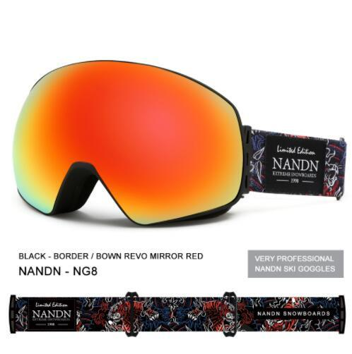New ski goggles double layers UV400 anti-fog big ski mask glasses skiing men women snow snowboard goggles