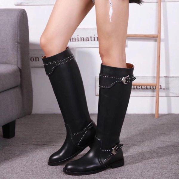 Mujeres Botas altas para el muslo 2018 Marca de moda Diseñador de lujo 2018 Marca de moda Diseñador de lujo Zapatos de mujer Superestrellas botas