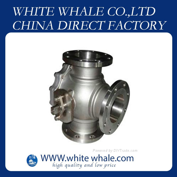 top popular 10% off hot sale Flange Connecting L type three-way 3 4 inch Stainless Steel 304 mini ball valve 2021