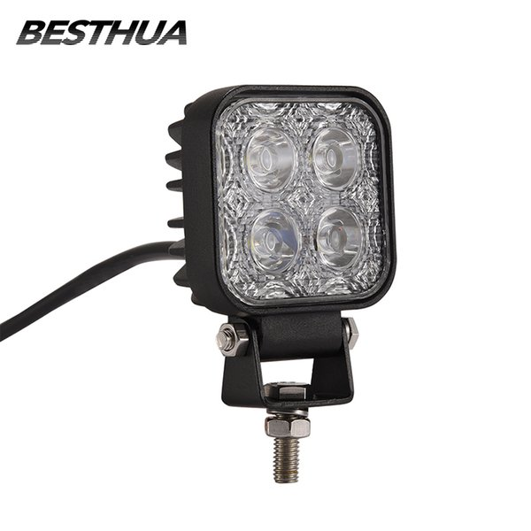 1 Pcs 900LM Mini 6 Inch 12W 4 X 3W Car LED WORK Light Bar as Worklight/ Flood Light / Spot off road for Vehicle SUV ATV